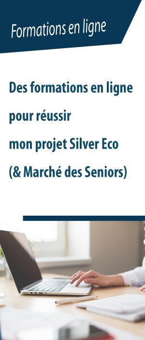 Formations en ligne sur le marché des Seniors et la Silver économie